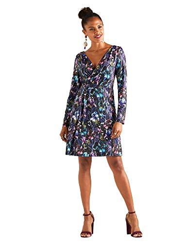 Iris Flower Jersey Dress Flower Jersey Kleid
