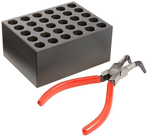 Witeg Heizblock BLT335 30 Löcher, Ø13x46mm, leicht konischer Boden, für Blockthermostat HB-48/-96/R-48