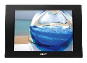 """Sony DPF-D100 Cadre photo numérique Ecran 10"""" 500 Photos 4/3 256 Mo Noir"""