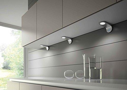 Domus Line LED da Incasso da Cucina con dimmer e convertitore, Set da Pezzi