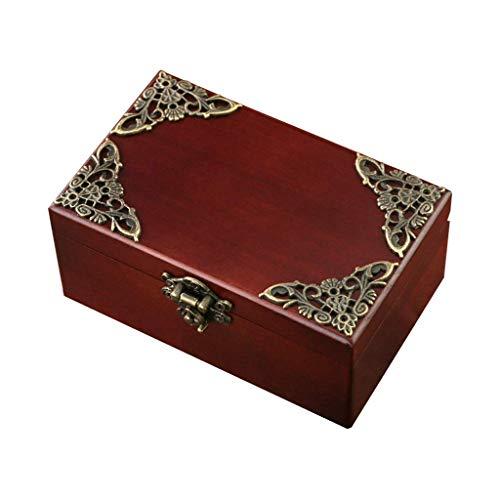 ZHAS Schachteln \u0026 Figuren Schöne Vintage-Schmuck-Spieluhr Kompakte Musik-Schmuck-Box Mädchen-Geschenk (Farbe: Braun, Größe: Romeo und Julia) -