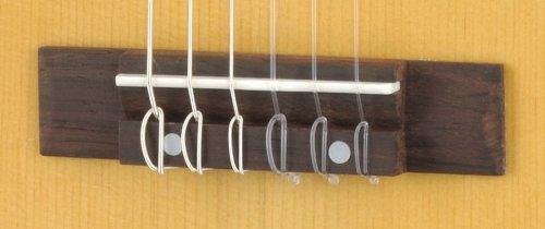 Yamaha GL1 Guitalele - Ukulele-sized Wooden Guitar (70 cm) with 6 Nylon Strings and Fitted Yamaha Gigbag - Natural