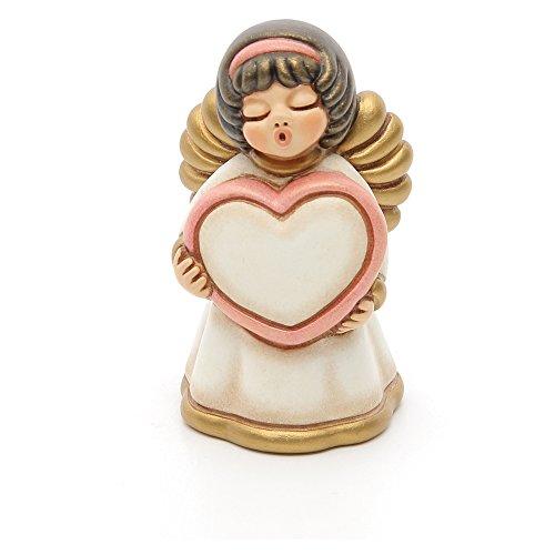 Thun angelo con cuore ceramica 7,5 cm h