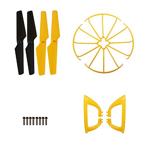 holy-stone-rc-drone-quadcopter-spare-parts-crash-pack-for-x401h-v2-4-blades-propellers-4-propeller-g