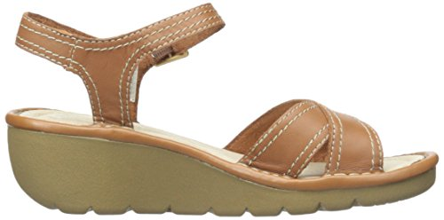 Skechers Cameo Faceted Kleid Sandale Tan Leather