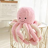 BELUPAI Octopus Plush Stuffed Toy, Cute Sea Creature Plush Toy Simulation Animals Soft Plush Pillow Gift for Kids Boys and Girls