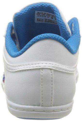 adidas Originals Plimcana Low K, Baskets mode mixte enfant Blanc (Blanc/Blesol/Blanc)