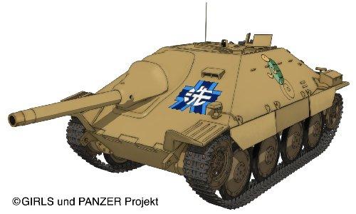 Girls und Panzer - 38(t) Tank Kai Hetzer - 1/35 - Kame San Team Ver. (Platz) (japan import) - 38 1 35 Panzer