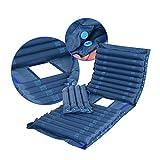 Gonfiabile materasso a pressione pad letto per ulcera da pressione e trattamento mal di pressione comprende pompa pneumatica e materasso Pad,color1,200x90cm