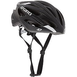 Giro et - Casco de Ciclismo para Bicicleta de Carretera, Color Negro (51-55 cm)
