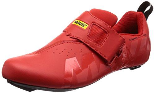 Mavic Cosmic Elite Tri - Zapatillas - Rojo Talla del Calzado UK 10,5 / EU 45 1/3 2019