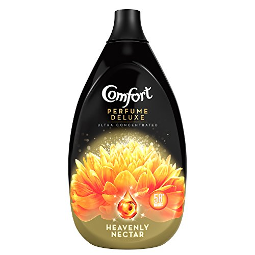 Comfort Perfume Deluxe Heavenly Nectar Fabric Conditioner, 870 ml, Pack of 6