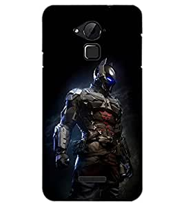 PrintDhaba ROBOT D-6421 Back Case Cover for COOLPAD NOTE 3 LITE (Multi-Coloured)