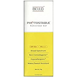 Bello Photostable Sunscreen Gel SPF 40+ PA+++, 75g