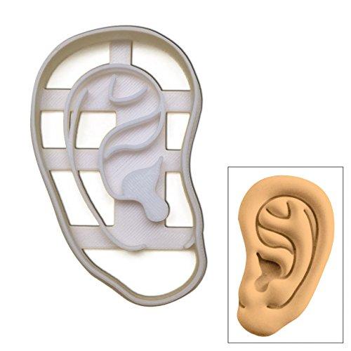 Anatomical orecchio umano Cookie Cutter, 1pc, ideale per medici assistenza sanitaria feste a tema