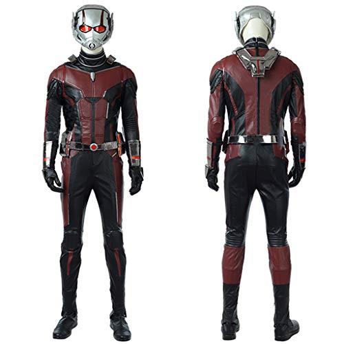 nihiug Ameisen 2 vollständige Reihe von Cosplay Ameisen Overalls Hauben Strumpfhosen Cos Kleidung benutzerdefinierte Halloween-Kostüme,Red-XL(178to182) (Halloween Kostüme Benutzerdefinierte)