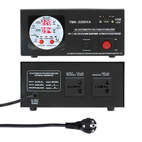 Yinleader Convertidor de Voltaje - Salida 110/220