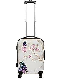 Koffer Butterfly Schmetterling Größe M Polycarbonat Hartschale Reisekoffer Trolley Case Bowatex