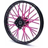 Spoke Skins Überzug für Reifenfelgen, Fahrrad, Pink