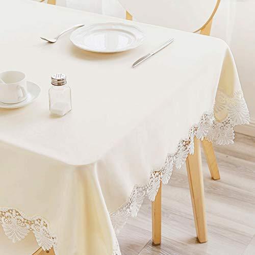 Seven stars Spitze Seite Round Table Tischdecke Garten Wasserdicht Stoff Tischdecke Amerikanischen...