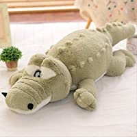 khfkdjsbfcksb Giant Crocodile Plush Animal Toy Large Crocodile Doll Sleeping Pillow Multi-size Children Plush Doll 150cm green