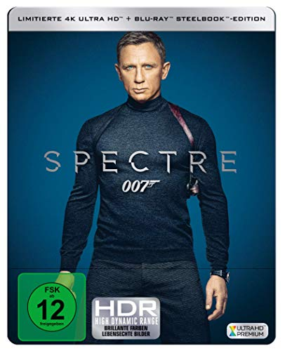 James Bond: SPECTRE  ( 4K UHD + Blu-ray ) Limited Edition