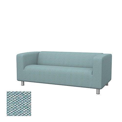 Cuscino Per Pc Ikea.Soferia Ikea Klippan Funda Para Sofa De 2 Plazas Nordic Sea Green