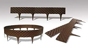 premium lawn flower bed edging border 3 20 m. Black Bedroom Furniture Sets. Home Design Ideas