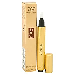 Yves Saint Laurent Touche Eclat Radiant Touch, 5 Luminous Honey, Donna, 2.5 ml