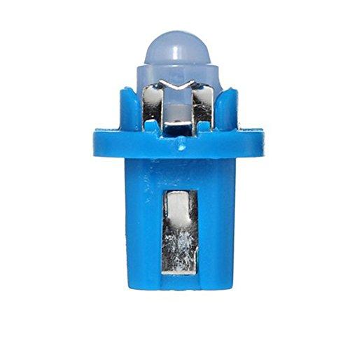 elegantstunning Haute Lumen T5 12V LED Voiture Tableau de Bord Side Ampoule Automobile Speedo Dash Panneau Lampe Ampoule, Vendu en 10 Pcs