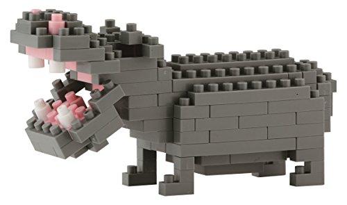 Desconocido Juego de construcción hipopótamo 13piezas