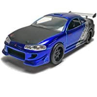 Jada 1:32 JDM Tuners Die-Cast 1995 Mitsubishi Eclipse Car Model Collection