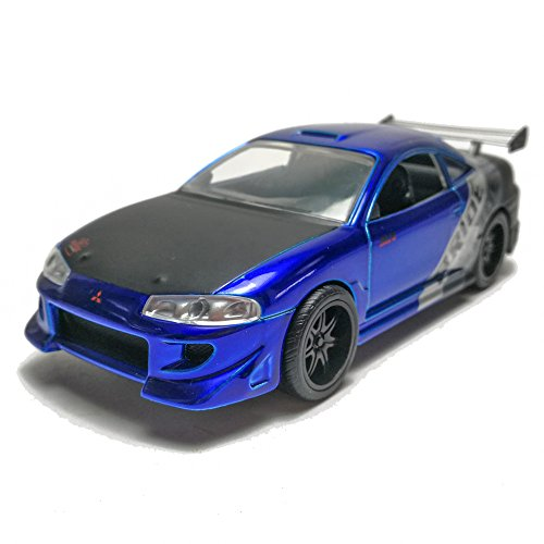Jada 1:32 JDM Tuners Die-Cast 1995 Mitsubishi Eclipse Car Model Collection (Eclipse 13 Collection)