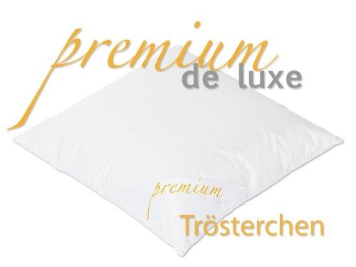 Premium de Luxe 975.20.007 Daunen Trösterchen Kissen – 100% Gänseflaum – 40×40 cm - 2