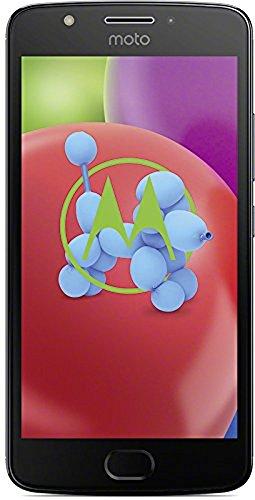 Motorola Moto E4 Smartphone (12,7 cm (5 Zoll) Display, 2 GB RAM/16 GB, Android) iron grau