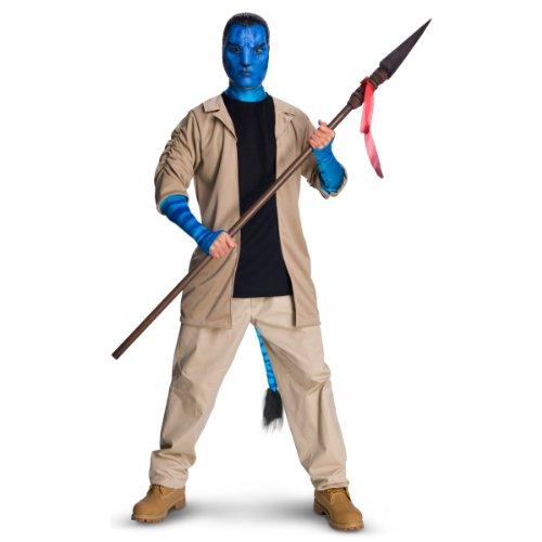 James Cameron's Avatar - Deluxe Herren Kostüm Jake Sully Gr. - Avatar Jake Sully Kostüm