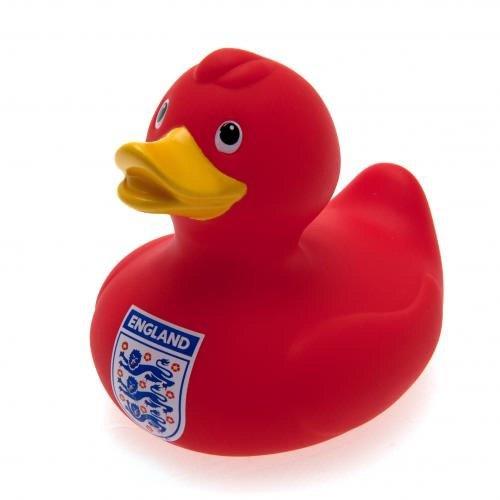 Baby Toys–Offizielle England FA rot Bad Zeit Ente Bad Spielzeug–Neuheit Baby Fußball Geschenk Ideen