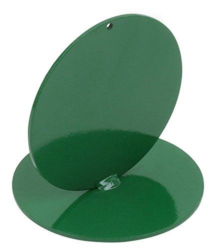 Anlaufmarkierung aus Metall, grün