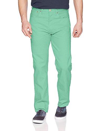 Levis Shrink To Fit-jeans (Levi's Men's 501 Original Shrink-to-Fit Jean, Spring Mint, 34W x 30L)