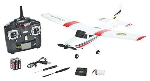 Carson 500505028 Cessna 182 Skylane Micro 2.4 G 100 % RTF, Fahrzeuge