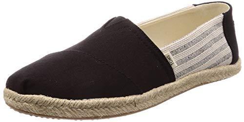 TOMS Damen 10013470 Espadrilles, Schwarz (Black 000), 38 EU - Damen Toms Schuhe Spitze