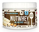 ALLNUTRITION Nutwhey Peanut Butter Erdnussbutter Aufstrich Proteine Frühstück 500g (Almond White - Mandel)