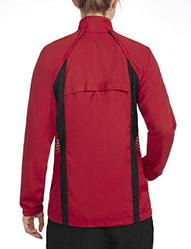 Rono PY10 Nano Veste pour femme Rouge (1109) - Rouge/noir (1109)