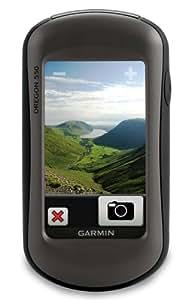Garmin Outdoor GPS-Handgerät Oregon 550, schwarz