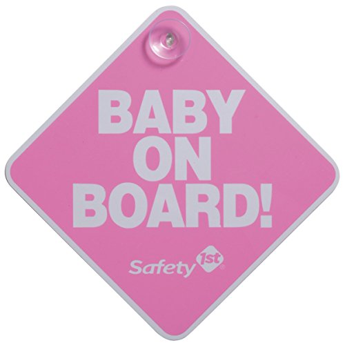 Safety 1st Baby On Board Sign, Pink by Dorel Juvenile Group (English Manual)