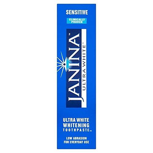 Gesicht Whitening Zahnpasta (Janina Whitening Zahnpasta Empfindliche 75Ml (Packung mit 6))