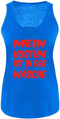 Luckja Mein Kostüm ist in der Wäsche Damen Tanktop Royal/Rot
