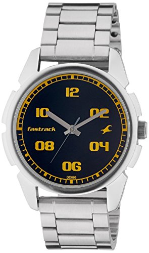 Fastrack Casual Analog Black Dial Men's Watch - 3124SM02 image
