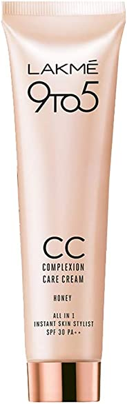 Lakmé 9 to 5 Complexion Care CC Cream, Honey, 30g