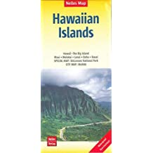 Nelles Map Landkarte Hawaiian Islands: 1:150.000 / 1:330.000   reiß- und wasserfest; waterproof and tear-resistant; indéchirable et imperméable; irrompible & impermeable